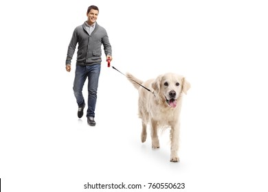 Man Walking Dog Images, Stock Photos & Vectors | Shutterstock