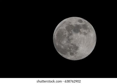 full moon april in night dark shining bright