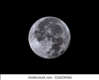 Full Moon August 27, 2018