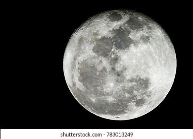 Full moon background / A full moon is the lunar phase that occurs when the Moon is completely illuminated as seen from Earth