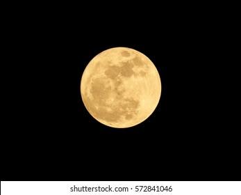 Full moon on the night.
