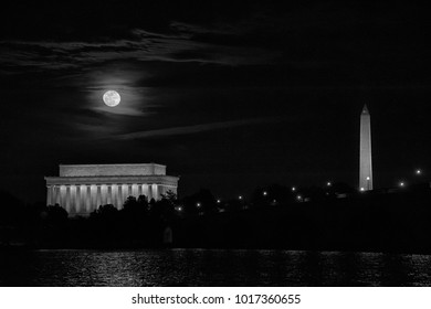 Full Moon over Washington DC