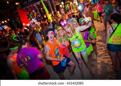Full moon party Oct 30, 2012, every month at Koh Phangan ,Thailand