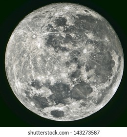 Full Moon, taken on 22 June 2013