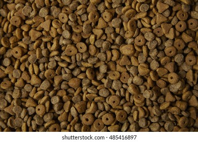 A full page of cat food background texture