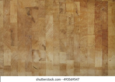A full page of olive wooden butchers block background texture