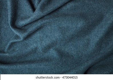 A full page of soft blue fleece fabric texture