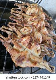 Full roasted chicken