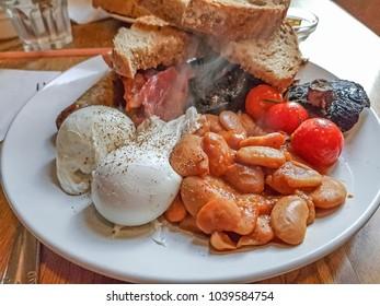 A full Scottish breakfast.