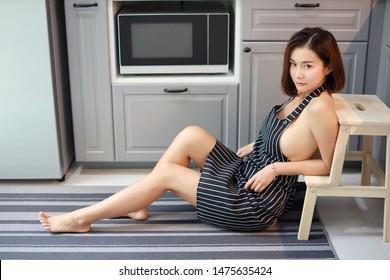 Redhead anal housewife panties