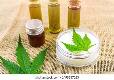 Full spectrum CBD and THC cannabis oils and cbd lotion