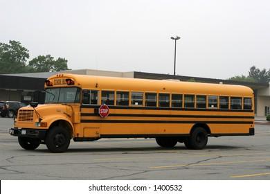 full view of school bus