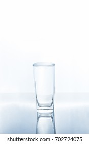 Full water in glass, full surface tension, Can't add more anything