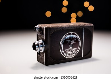 Fullerton, CA / United States - 4 24 2019: Bell and Howell vintage video camera. Same company that built the the camera that produced video of the JFK assassination