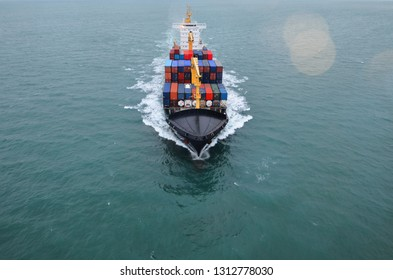 Full-speed cargo ship