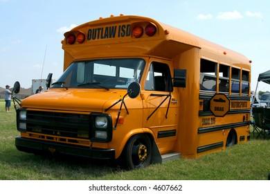 Fully Customized Yellow School Bus