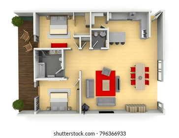 fully furnished modern interior designed architect home