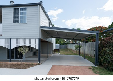 Fully renovated high set Queenslander style house with new carport
