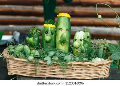 Fun Cucumber crafts