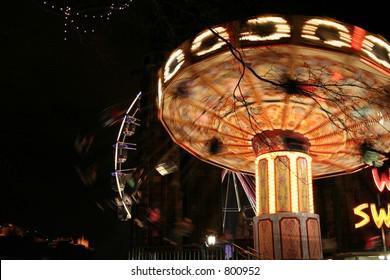 Fun Fair in motion No Five