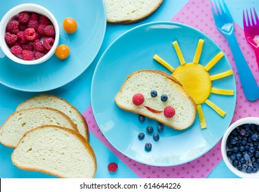 Fun with food for kids funny breakfast