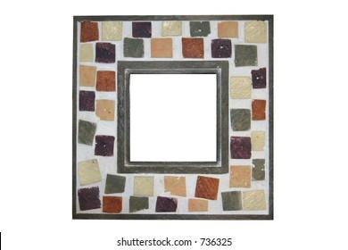 Fun Mosaic Picture Frame