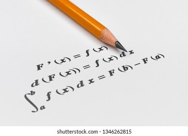 Fundamental theorem in differential and integral calculus on bright background
