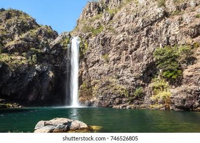 Fundao Waterfall - Serra da Canastra National Park - Minas Gerais - Brazil