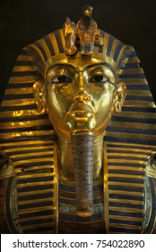 Funeral mask of Pharoah Tutankhamun