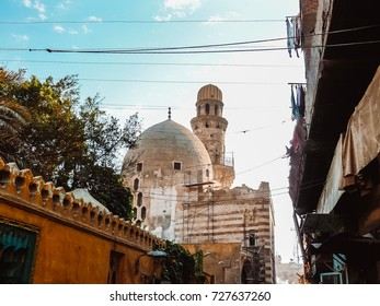 Funerary Complex of Baybars al-Jashankir (Khanqah Baybars al-Jashankir), this is the oldest surviving khanqah in Cairo and the second to be built in the heart of the Fatimid city.