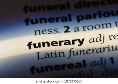 funerary funerary concept.