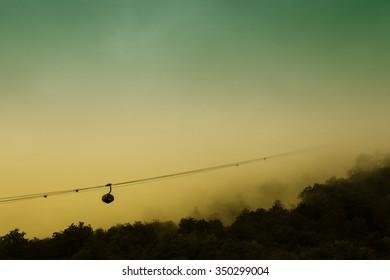 Funicular background
