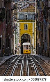 The Funicular - Lisbon, Portugal