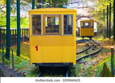 Funicular Railway in Kaunas Lithuania