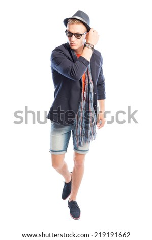 aba6625734a Funky Elegant Casual Male Summer Clothes Stock Photo (Edit Now ...