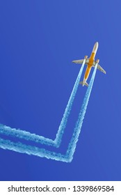 funny airplane changes its mind and travels to freedom