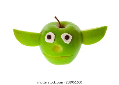 Funny apple figure