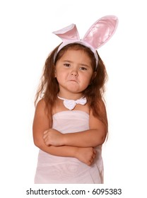 Funny Bunny Easter Child