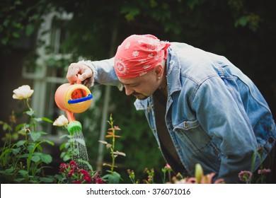 funny gardener men