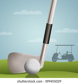 Funny golf ball