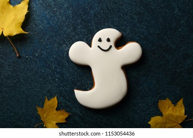 Funny Halloween cookie