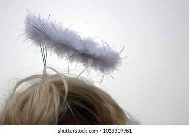 Funny headgear in bright colors and different materials