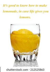 Lemonade Quotes Stock Photos Images Photography Shutterstock
