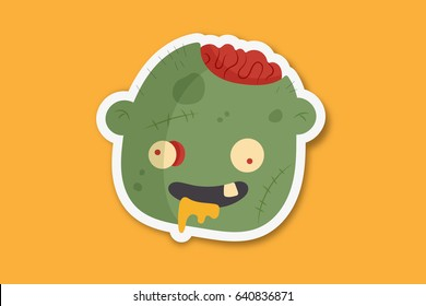 Funny Monster Character
