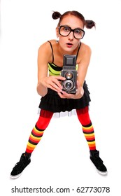 Funny photographer.