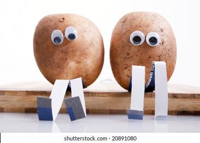 funny potatoes