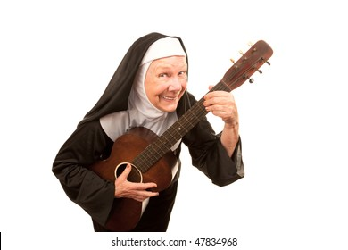 Weird Stock Photos Nun 4