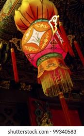 funny view of asia traditional religious lantern