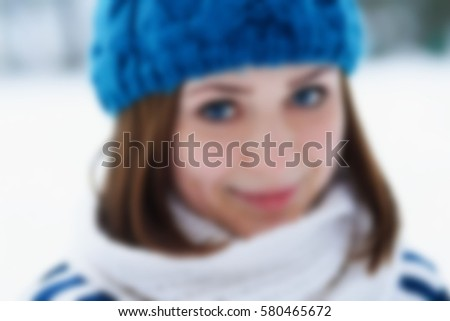 725f2b51f2d Funny young ginger girl making faces.Blurred background.Beautiful young  white girl in warm