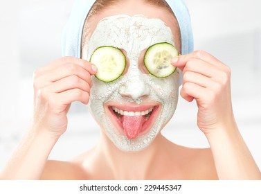 Eyes Cucumber Mask Images Stock Photos Vectors Shutterstock